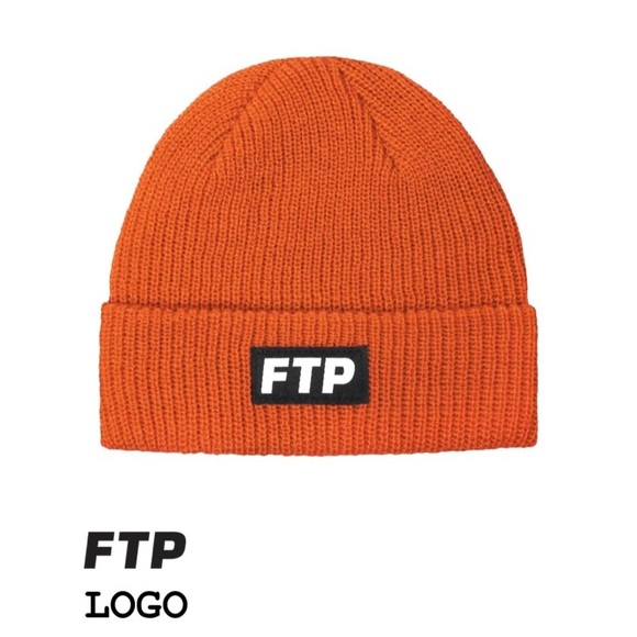 24979150695 FTP Other - FTP Orange Beanie  Limited Edition